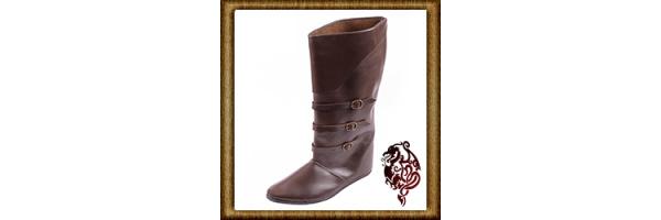 Mittelalterliches-Schuhwerk