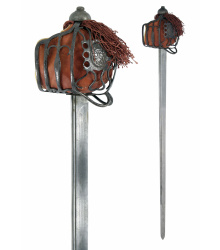 Schottisches Backsword mit Korbgefäß, Antikversion